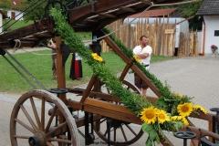 950 Jahre Bonstetten - 11. August - Umzug am Standort Zauner