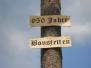 950 Jahre Bonstetten - Aufbau