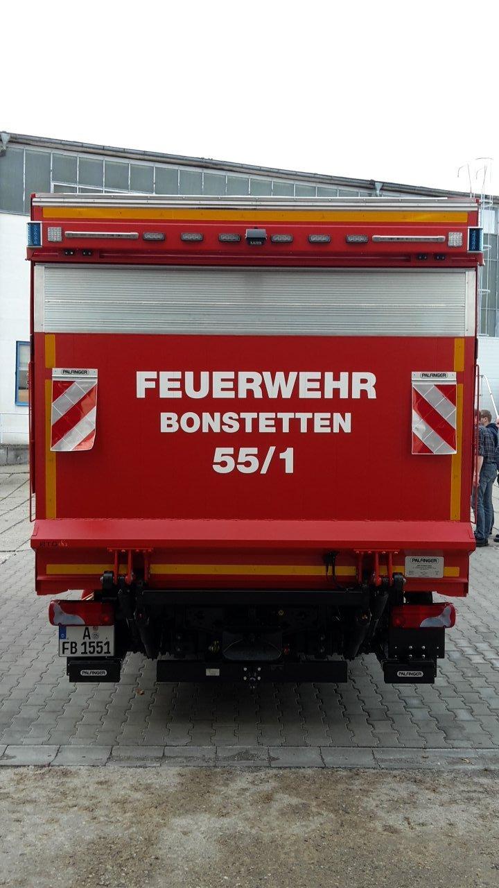 Gerätewagen Logistik 1 in Görlitz in Empfang genommen