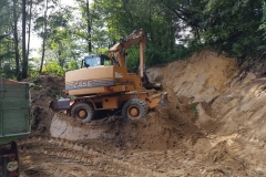 Bau des Vereinslagers