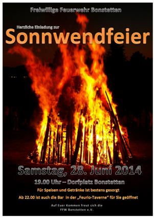 2014-07 Sonnwendfeier