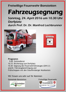 Segnung Fahrzeug 2016-04-24