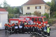 Feuerwehrübung Raiffeisenbank am 23.05.2014