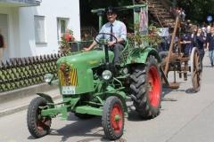 Feuerwehrumzug 125 Jahre Feuerwehr Adelsried
