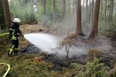 Waldbrand am 22.09.2019